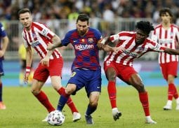 Barca vs Atletico Madrid