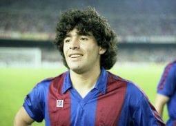 Diego Maradona barca