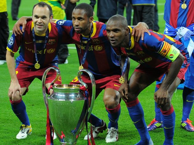 Iniesta vô địch Champion League