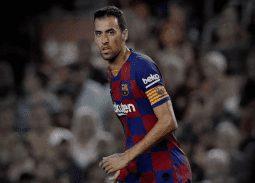 Sergio Busquets Trung Ve Barcelona