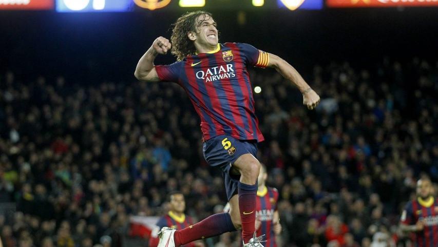 Trung vệ Carles Puyol