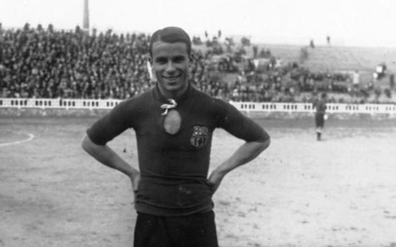 Chân dung tiền vệ Josep Samitier