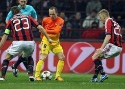 Barca vs AC Milan