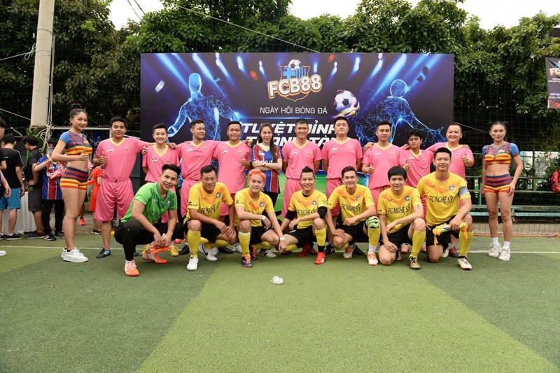 Đội bóng fcb88 của công vinh trong sự kiên tuyệt đỉnh tranh tài