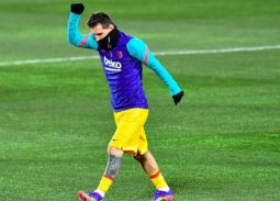 Messi chấn thương